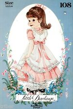 Sewing PATTERN Enchanted Forest Little Darlings Dress Pinafore Pantaloons 1-4