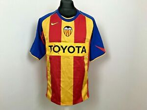 Valencia Away football shirt 2004 - 2005 Soccer Jersey Size Large