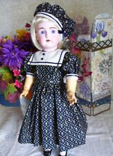 """18""""   Sailor Dress PATTERN for Antique Doll, Jacket and Hat     German Kestner"""