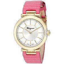 Ferragamo FIN030015 Women's Style Pink Quartz Watch