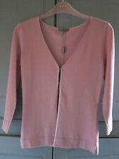Marks and Spencer Women's V Neck 3/4 Sleeve Thin Knit Jumpers & Cardigans