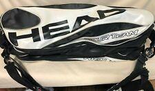 Head Tour Team Novak Djokovic Multi Racquet Shoulder Bag Black/White