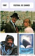 FICHE CINEMA :  FESTIVAL DE CANNES 1982 - Missing,Yol,Fellini