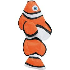 "WINDSOCK--72"" Clownfish Windsock by Skydog Kites"