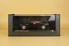 1/43 bmw 650i coupe black color die cast model