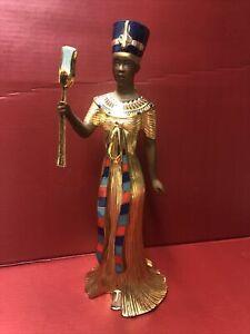 LENOX QUEEN NEFERTITI Figurine / Egyptian Sculpture