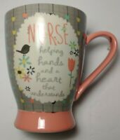 Pavilion Gift Company Nurse Ceramic Mug, 18 oz, Multicolored