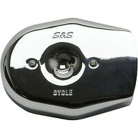 S&S Stealth Tribute Air Cleaner Cover, Chrome
