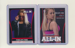 2018 Trading Card All In AEW Penelope Ford