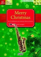 Merry Christmas für Altsax, Baritonsax und Es-Klarinette. Für Es-Instrumente