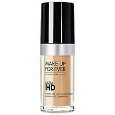 MAKE UP FOR EVER Ultra HD Invisible Cover Foundation Y422 Suede   30 ml  New