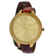 Relojes de pulsera Michael Kors de cuero