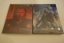 Thor Lenticular Steelbook Blufans Combo Exclusive 3D+2D Blu-ray Brand New & Rare