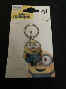 Minions Keychain Keyring Bob Enamel and Metal NEW with tags
