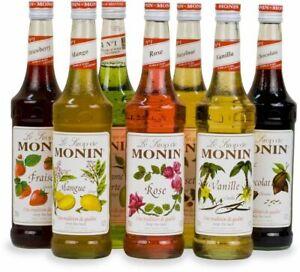 Monin Premium Flavoring Syrup, 750mL, 25.4 oz (select flavor below)
