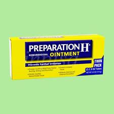 PREPARATION H 8 TWIN PACKS HEMORRHOIDAL OINTMENT NET 4oz(114g) ea