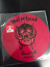 MOTORHEAD - OVERKILL / Breaking The Law 12 inch Single RED Vinyl  Lemmy