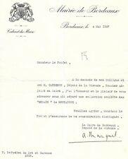 ADRIEN MARQUET MAIRE DE BORDEAUX ET MINISTRE DE VICHY