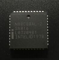 Intel N80C88AL-2 CPU SX016 8088 Processor 16bit 8MHz PLCC44 CMOS Ver