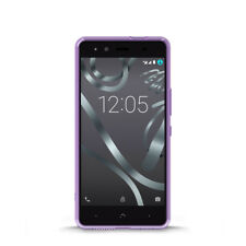 Funda BQ Aquaris X5 Purple Gummy