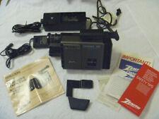 Zenith Vm6200 Video Camera Camcorder Vhs-C & accessories Used: Read Description