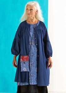 BNWT *Gudrun Sjoden* beautiful, loose fitting organic cotton Billie dress XL