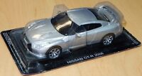 MAG EF07 Nissan GT-R R35 CBA diecast model road car metallic silver 2008 1:43rd