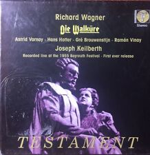 WAGNER - DIE WALKURE TESTAMENT SET  4Cd Nuevo Precintado