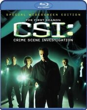 CSI: Crime Scene Investigation - The Complete First Season (Blu-ray Disc, 2009,