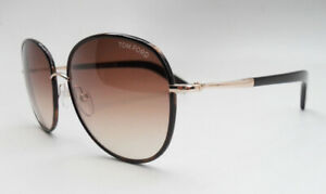 New Authentic Tom Ford Sunglasses Georgia TF 0498 52F Free Express Shipping