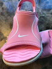 New Nike Baby Sunray Pink Water Sandals  Toddlers Girls Size 7