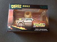 DeLorean & Einstein Figur Back To The Future BTTF Zurück in die Zukunft neu OVP