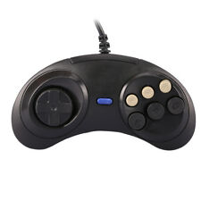 Wired 6 Button Controller Pad Gamepad for Sega MD Genesis Mega Drive Megadrive