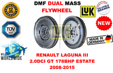 FOR RENAULT LAGUNA III 2.0DCI GT 178BHP ESTATE 08-15 NEW DUAL MASS DMF FLYWHEEL