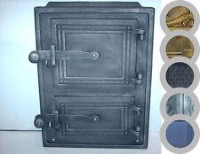 Porte de four poêle à bois OfentüR Fonte Fumoir COULEURS 260 x 350mm