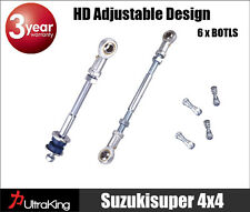 2 GU Y61 Patrol Rear HD Extended Adjustable sway bar link kit Nissan 2-8 inch