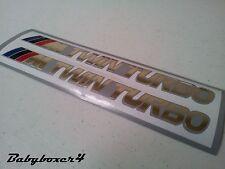 Twin Turbo Motorsport Sticker BMW 320i 325i 335i M3