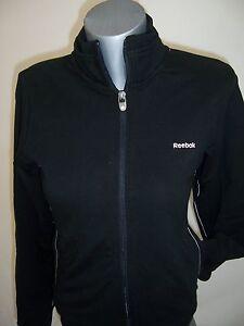 Veste Jacket Femme Sweat zippé Reebok neuf taille S coloris noir
