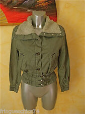 veste courte en jeans gris KANABEACH suzanne TAILLE 1 NEUF ÉTIQUETTE  valeur 99€