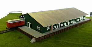 HO scale (KIT) South Australian goods Shed with covered loading dock 1/87 scale
