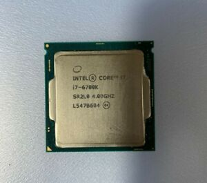 Intel Core I7 6700K 4.0 Ghz S-1151. Sin disipador