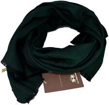 Sciarpa Uomo Donna  Verde Scuro La Martina Scarf Wool 120 Scarves Wool Dark Gree