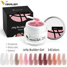 Venalisa Nail Art French Poly Gel Fibreglass Hard Jelly Builder Nail Extend Gel