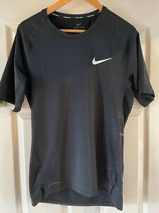 NIKE pro dri-fit tight xl tight black t-shirt tshirt locker room lost property