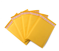 5x8 6x9 Kraft Paper Bubble Mailer Padded Envelopes Bag Shipping Protection