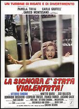 Cinéma-the Lady affiche' VIOLÉES! tiffin pamela,garcia ; SINDONI