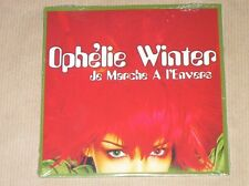 MAXI CD 2 TITRES / OPHELIE WINTER / JE MARCHE A L'ENVERS / NEUF SOUS CELLO