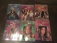 Sex And The City Series 2,3,4,5,6 (Part 1) & 6 (Part 2) DVD Movies