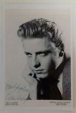 "ROCK N ROLL - Eddie Cochran Liberty Records Reproduced Autograph 6""X4"" Postcard"