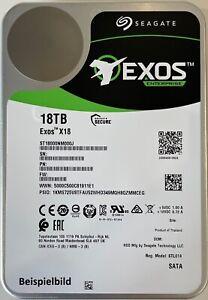 Seagate Exos™ X18 ST18000NM000J Festplatte 18000GB (18 TB) 256MB Cache SATA3